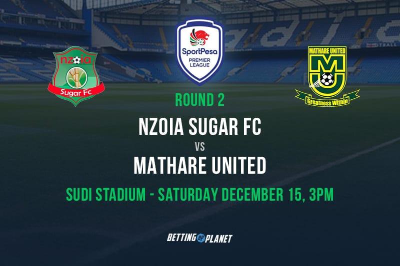 Nzoia Sugar v Mathare United