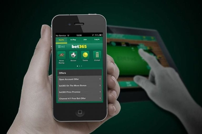 Bet365 mobile betting app