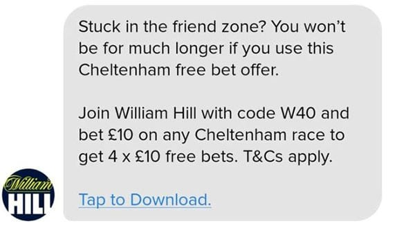 Latest William Hill gambling news