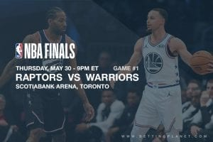 Golden State Warriors @ Toronto Raptors