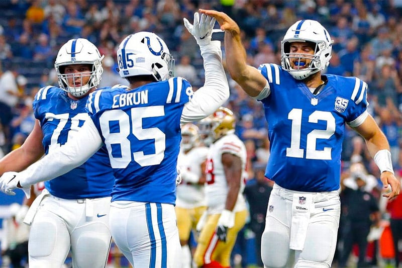Colts NFL betting news