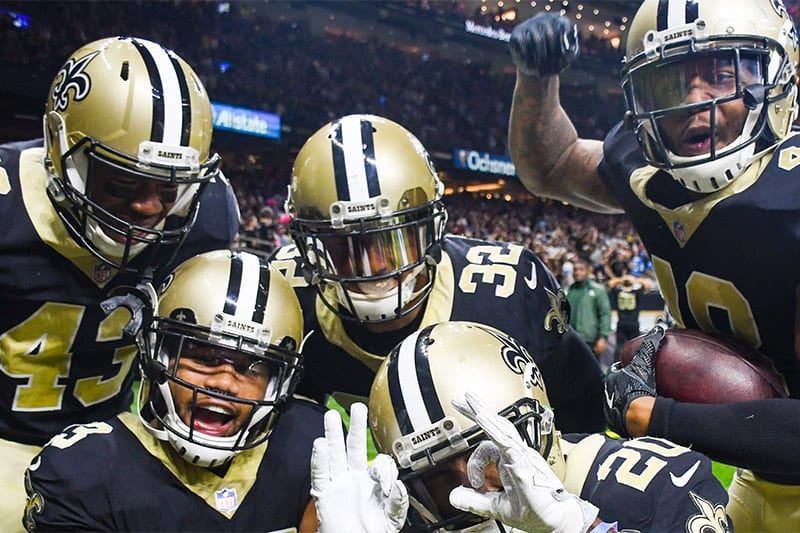 Saints NFL betting news