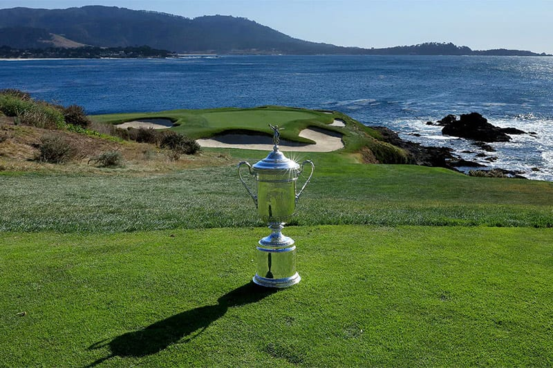 US Open 2019 Pebble Beach golf betting