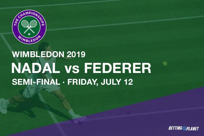 Nadal vs Federer Wimbledon betting tips