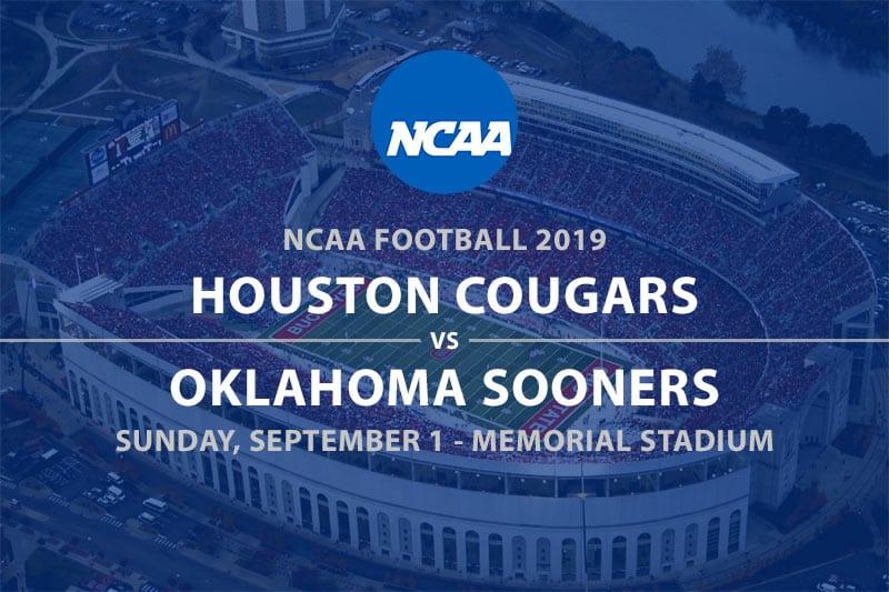 Cougars vs Sooners NCAAF 2019 betting