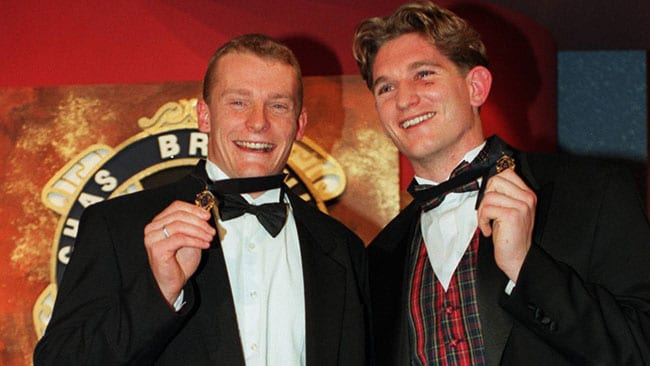 Joint Brownlow Medal win