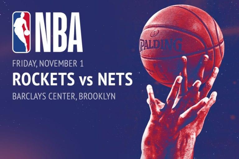 Rockets @ Nets NBA betting tips