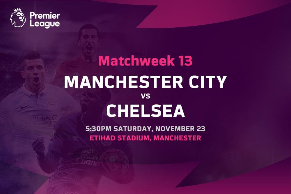 Man City vs Chelsea EPL betting tips