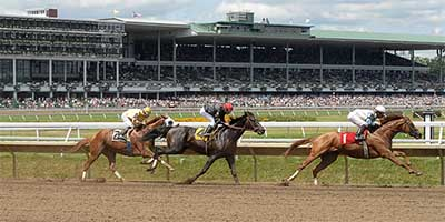 Monmouth Park is the home of horse racing betting in NJ