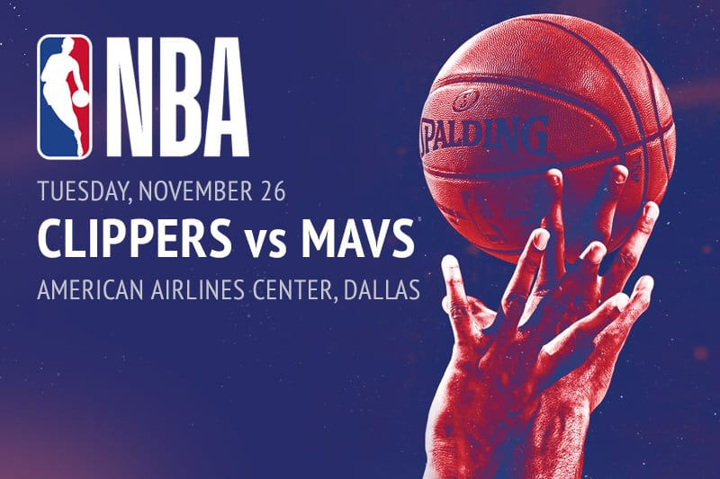 Clippers @ Mavs NBA betting picks