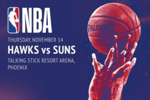 Hawks @ Suns NBA betting picks