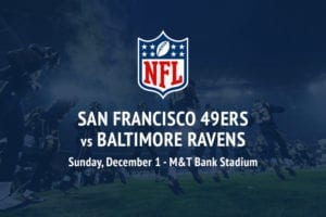 49ers @ Ravens NFL betting picks