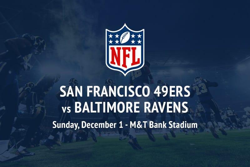 san francisco 49ers vs baltimore ravens betting