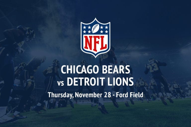 Bears @ Lions NFL betting picks