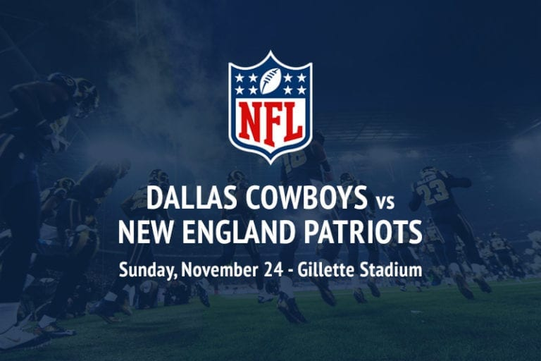 Cowboys @ Patriots NFL betting picks
