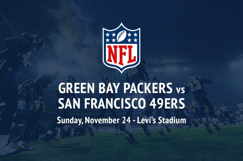 Packers @ 49ers NFL betting picks