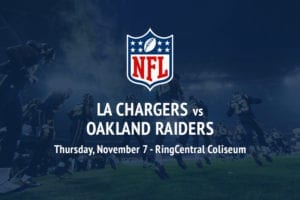 Chargers @ Raiders NFL betting tips