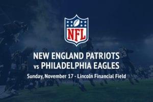 Patriots @ Eagles NFL betting picks