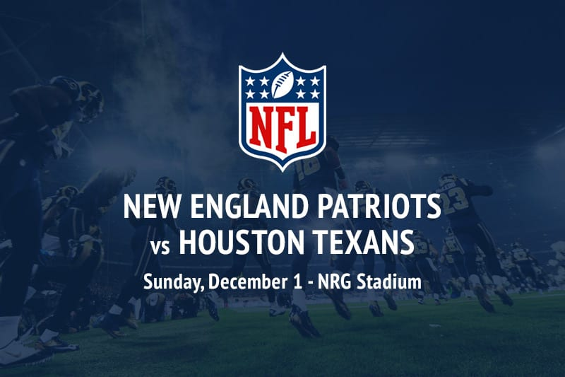 Patriots @ Texans NFL betting picks