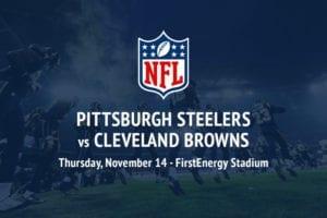 Steelers @ Browns NFL betting picks