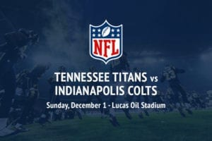 Titans @ Colts NFL betting picks