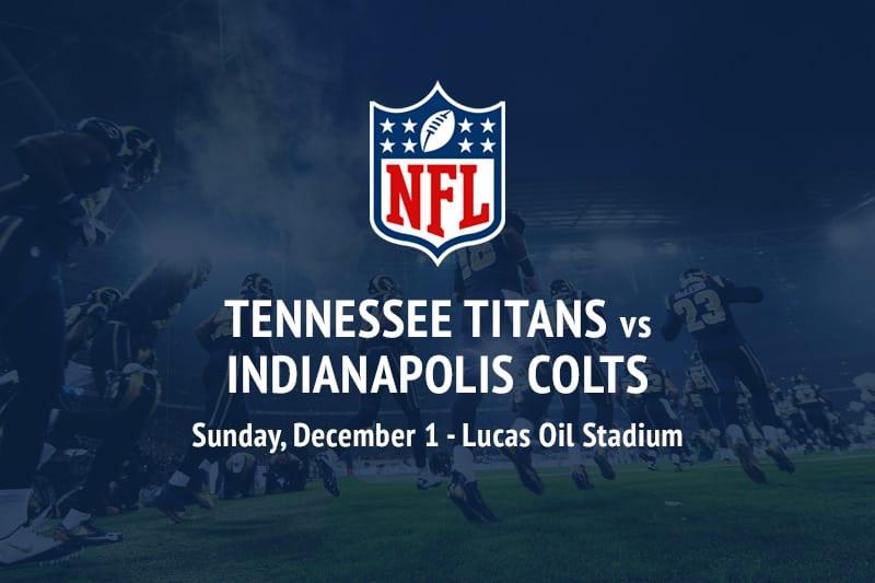 Titans @ Colts NFL betting picks
