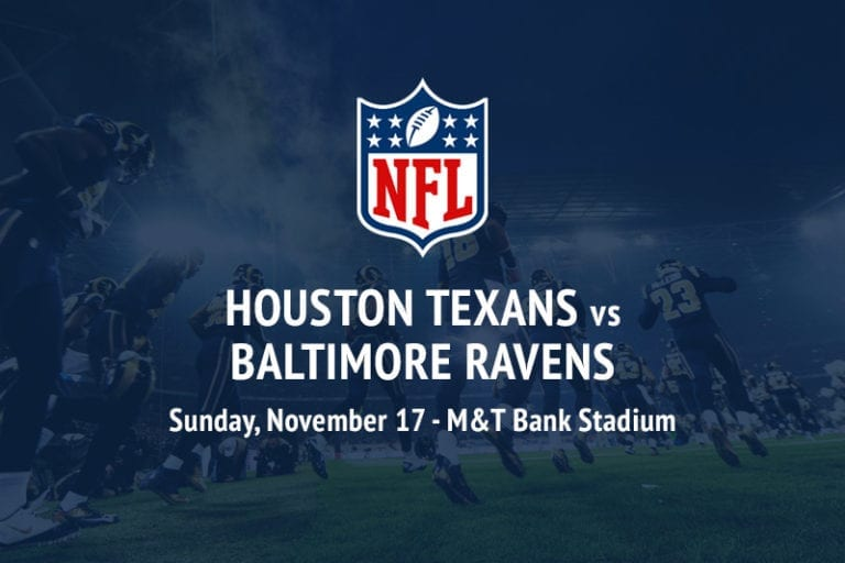 Texans @ Ravens NFL betting picks