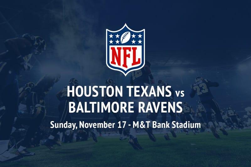 Texans @ Ravens NFL betting picks