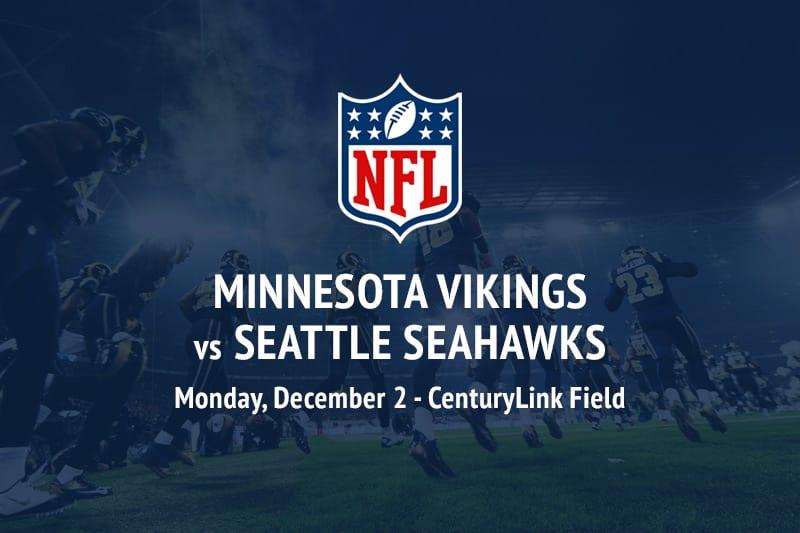 Vikings @ Seahawks NFL betting picks