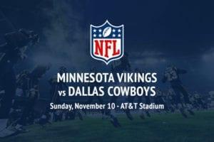 Vikings @ Cowboys NFL betting tips