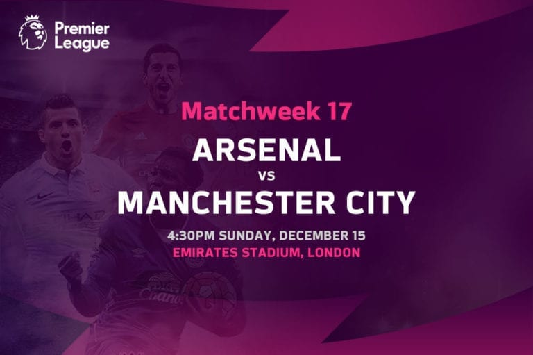 Arsenal vs Man City EPL betting tips
