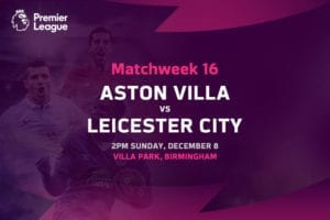 Villa vs Leicester EPL betting tips