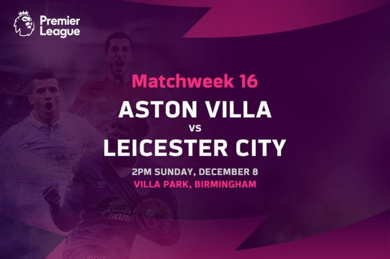 Villa vs Leicester EPL betting tips