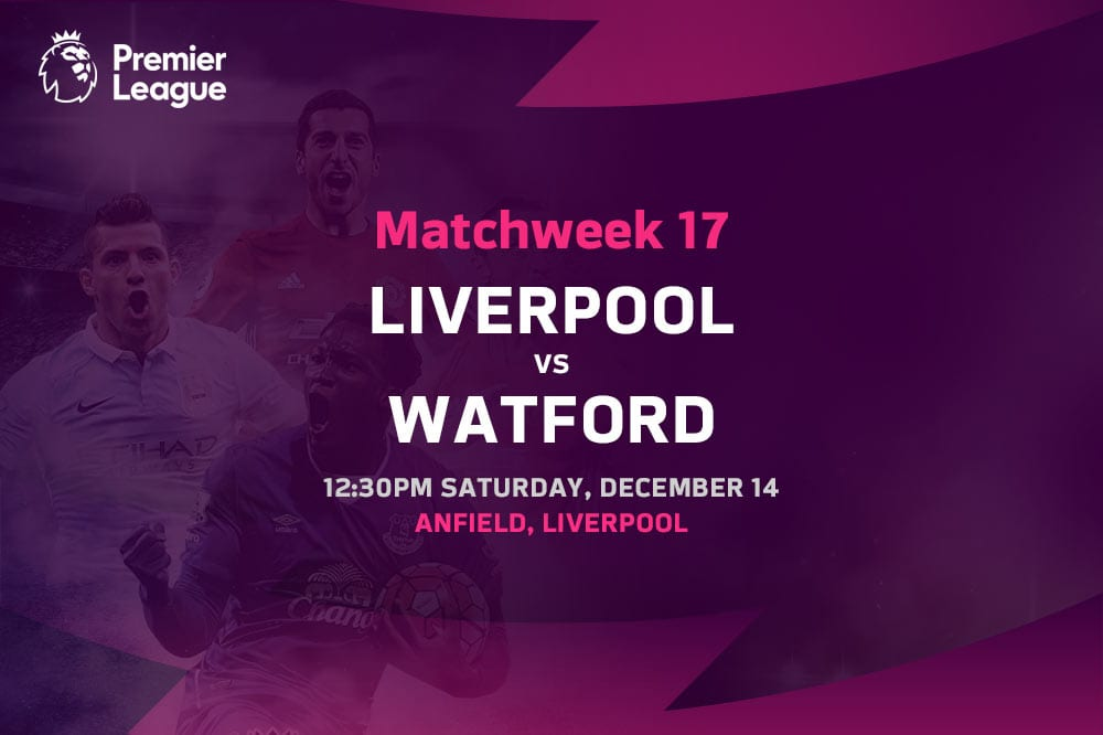 Liverpool vs Watford EPL betting tips