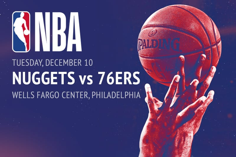 Nuggets @ 76ers NBA betting picks