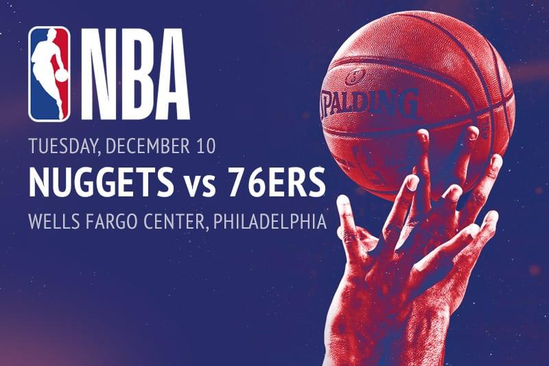 Nuggets @ 76ers NBA betting picks
