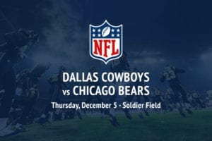 Cowboys @ Bears NFL betting picks
