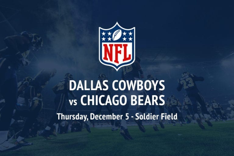 Cowboys @ Bears NFL betting picks