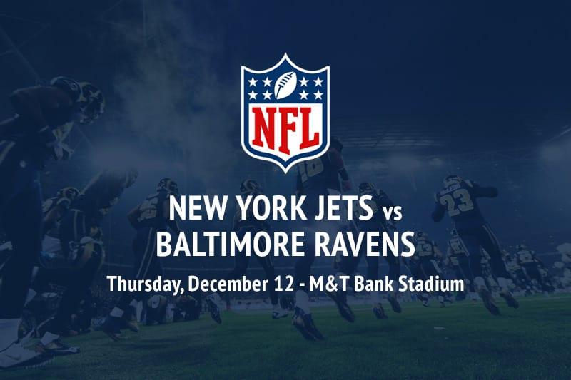 Jets @ Ravens NFL betting picks