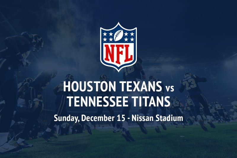 Texans @ Titans NFL betting picks