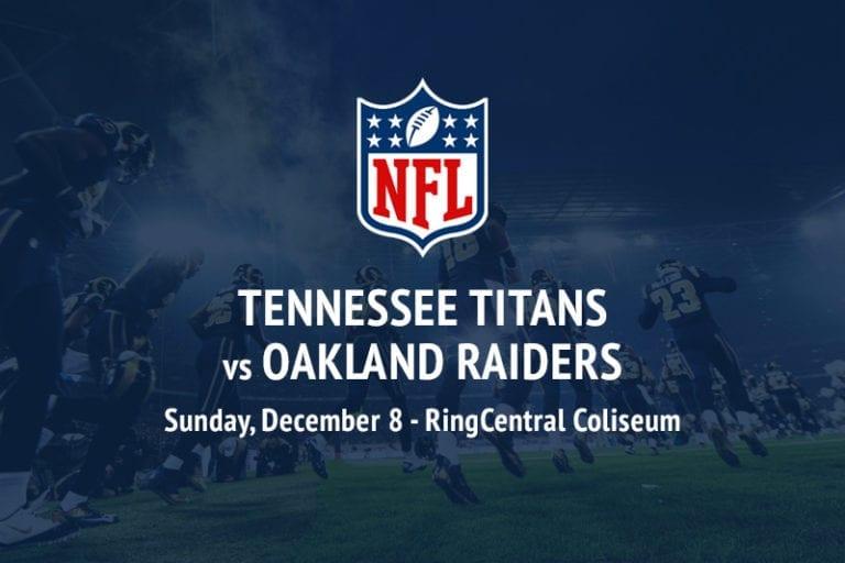 Titans @ Raiders NFL betting picks