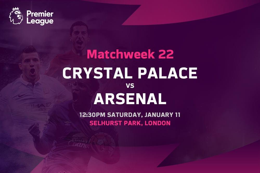 Crystal Palace vs Arsenal EPL betting tips