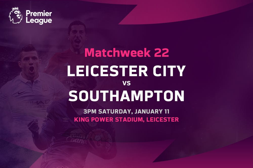 Leicester vs Southampton EPL betting tips