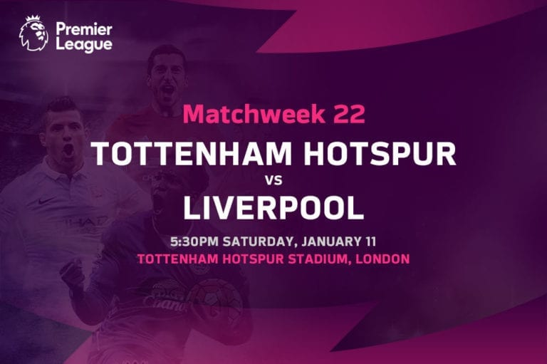 Spurs vs Liverpool EPL betting tips