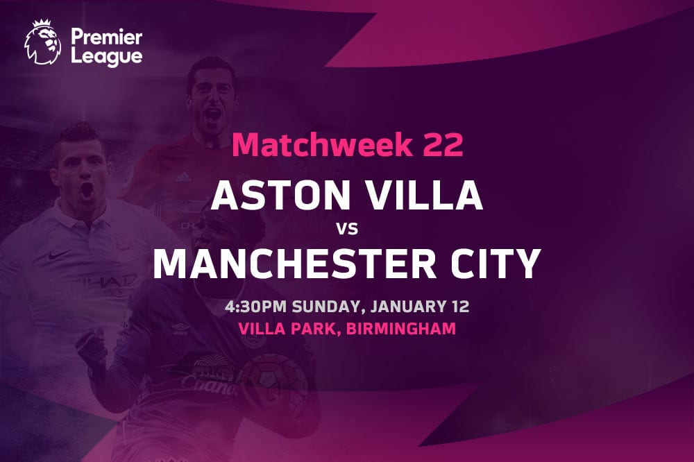 Aston Villa vs Man City EPL betting tips