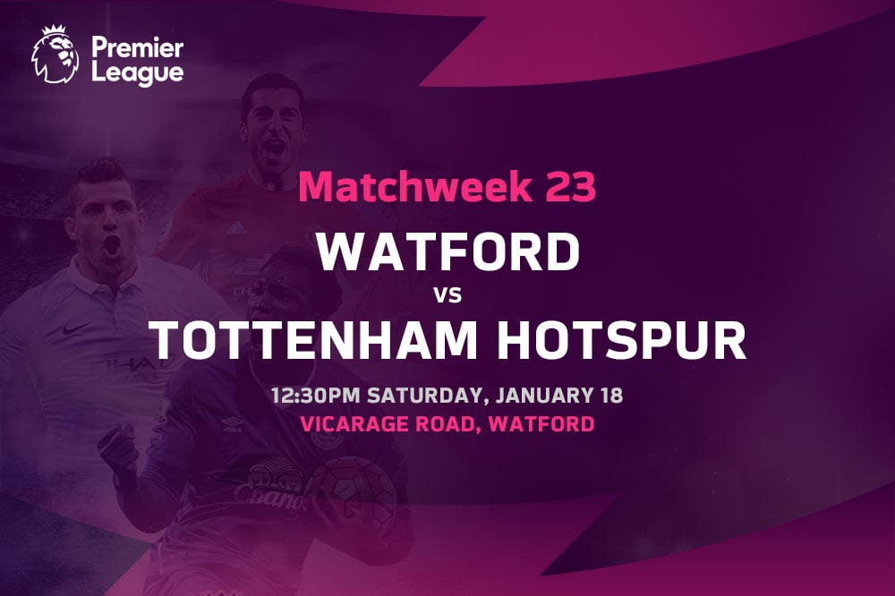 Watford vs Spurs EPL betting tips