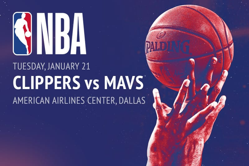 Clippers @ Mavericks NBA betting picks