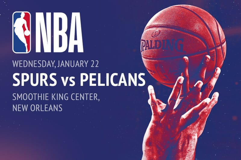 Spurs @ Pelicans NBA betting picks
