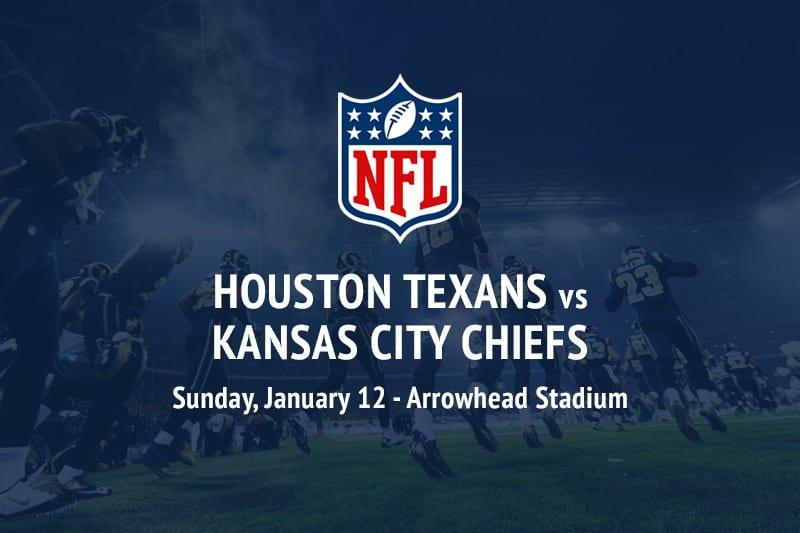Texans @ Chiefs NFL Playoffs betting tips