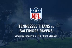 Titans @ Ravens NFL Playoffs betting picks